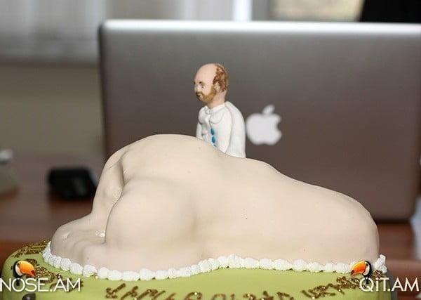 """Торт """"Самый лучший пластический хирург в мире"""" от счастливой пациентки"""