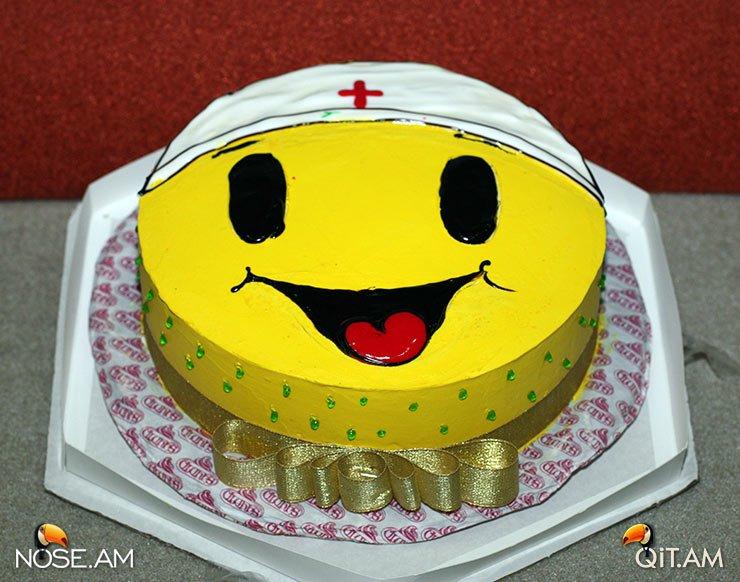 Торт Smile от улыбчивой пациентки